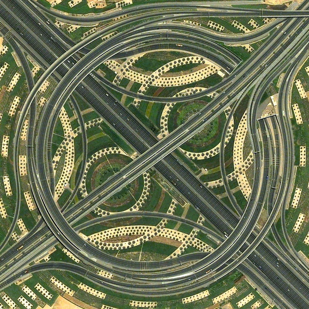 Whirlpool Interchange Dubai, United Arab Emirates