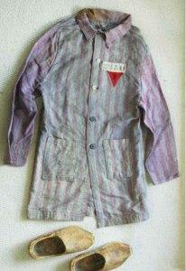 Uniformi indossate dagli omosessuali nei campi di concentramento nazisti
