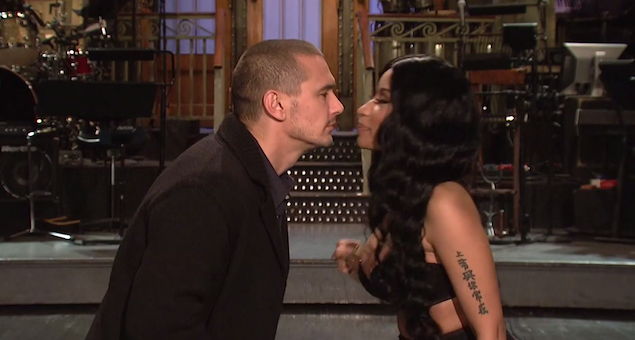Nicki-minaj-james-franco-snl-promo