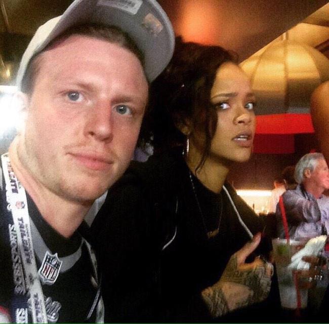 Rihanna terrorizzata