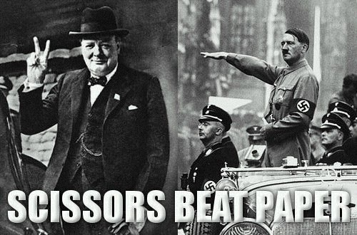 churchill-hitler