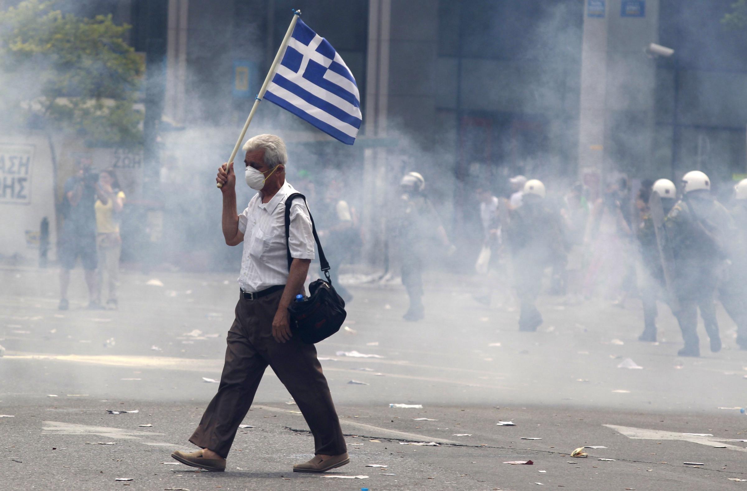 il debito della Grecia