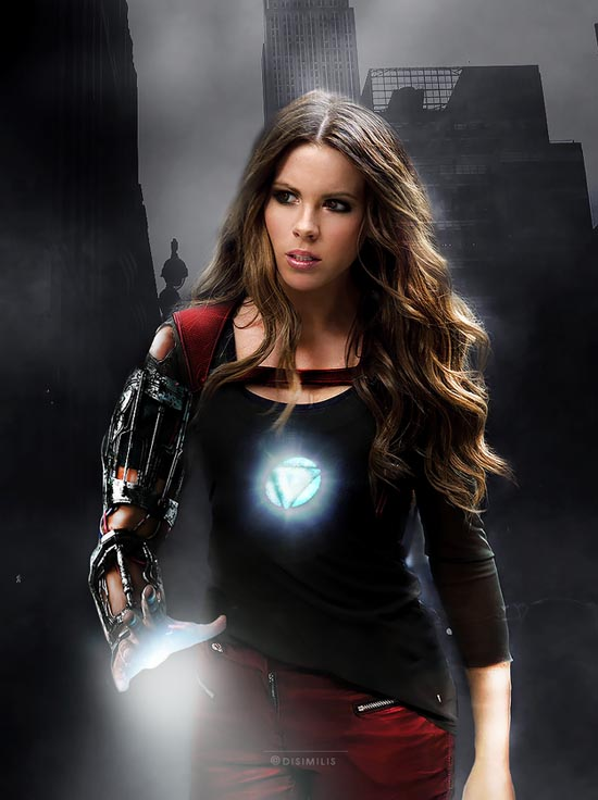 IRON (WO)MAN : KATE BECKINSALE