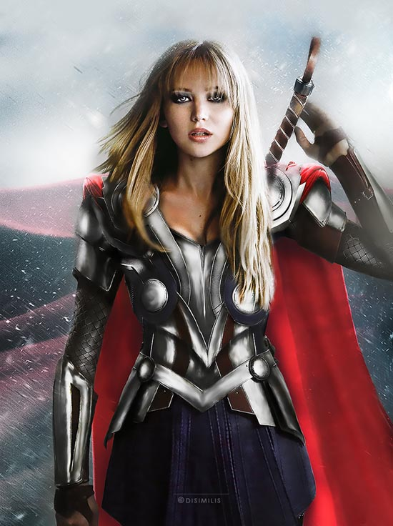 THOR : JENNIFER LAWRENCE