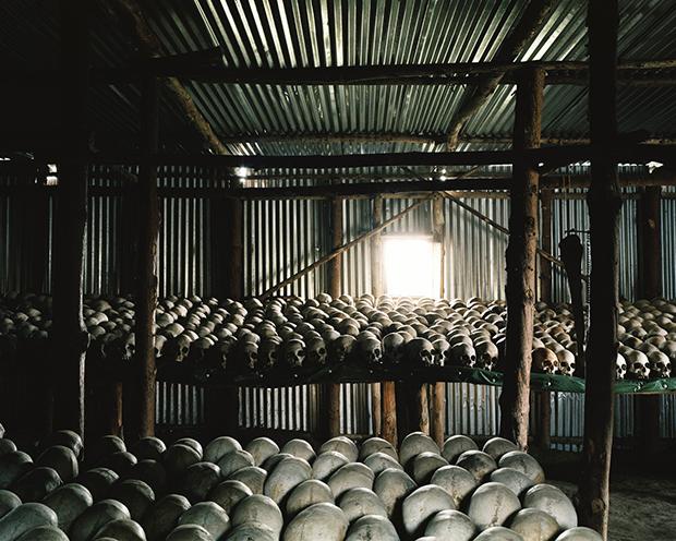 Genocide memorial site at Bisesero, Rwanda.