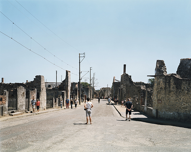 Oradour-sur-Glane, the site of a 1944 Nazi massacre.