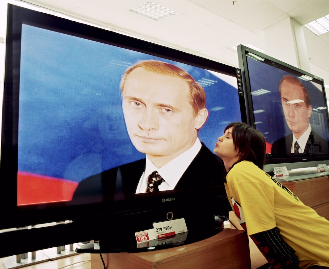 """Yulya Nikolaeva: """"Il mio ragazzo Kirill mi ha portato nel fan club di Putin. Mi piace VV ed è interessante guardare le sue azioni. Posso dire solo il meglio di lui. Ha fatto così tanto per il nostro paese...""""."""