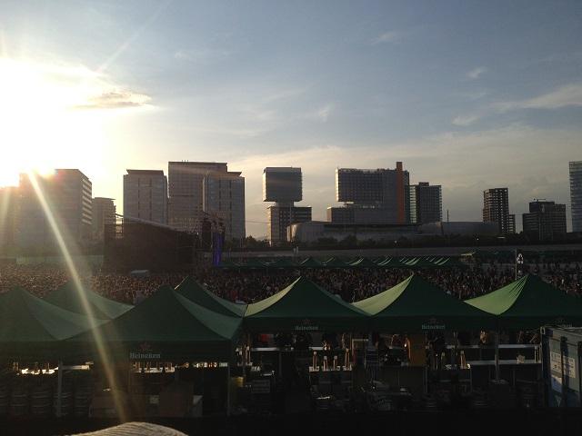 Heineken Stage from Vip Area