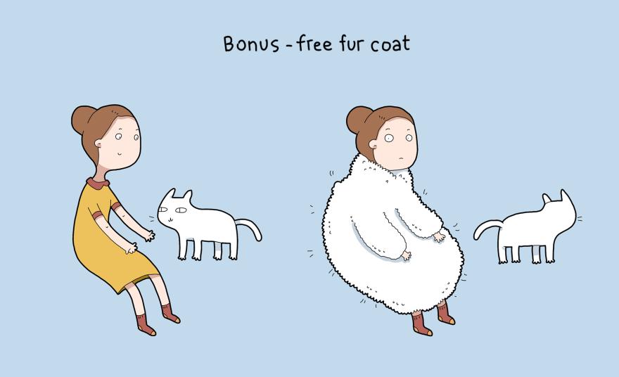 Bonus - mantello di pelo gratuito