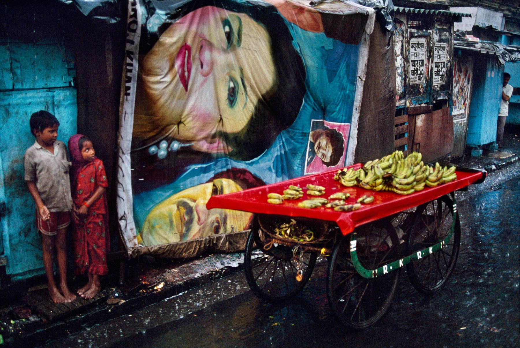 Banana Cart, Bombay, India, 1993