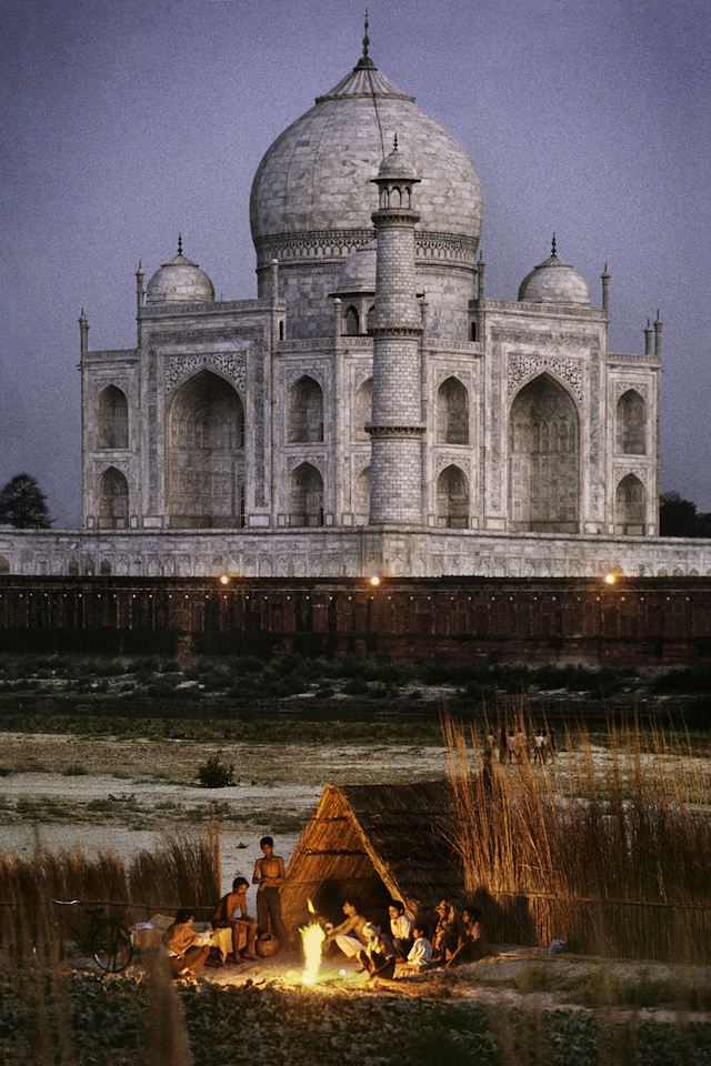 INDIA-10312NF, Taj Mahal, Agra, India, 1996,