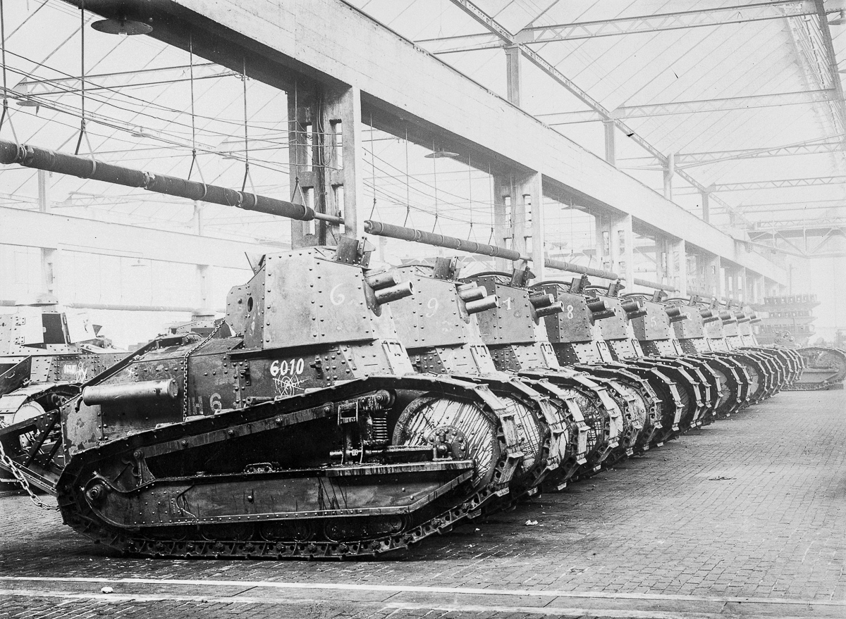 World War I Renault Tanks