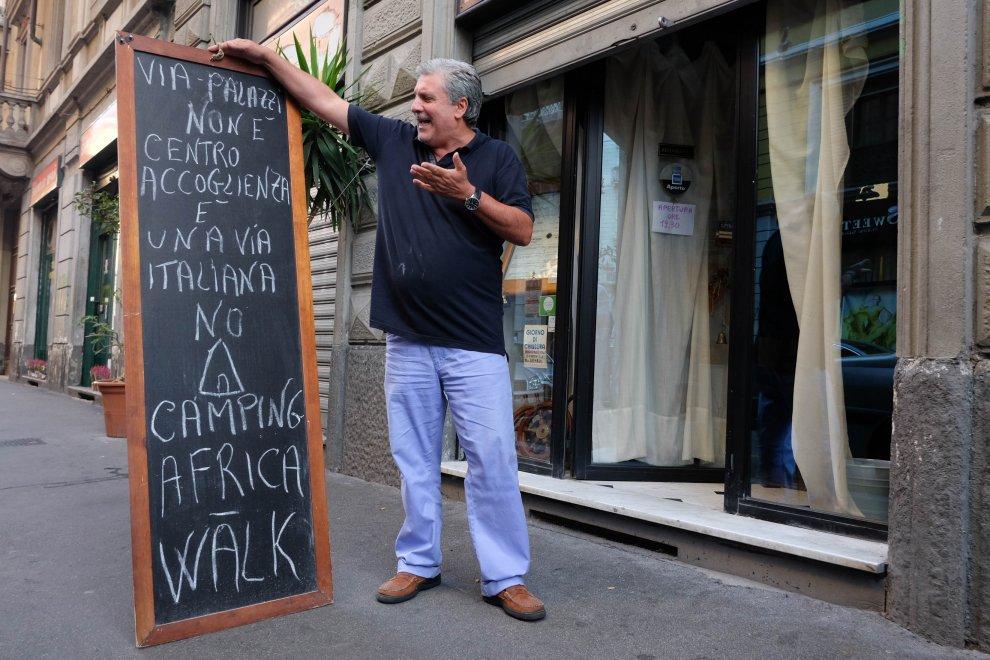 Proprietario del ristorante 'Osteria della luna piena' a Milano, che ci auguriamo rimanga vuoto per il resto della sua esistenza