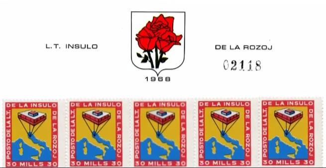 francobolli isola delle rose