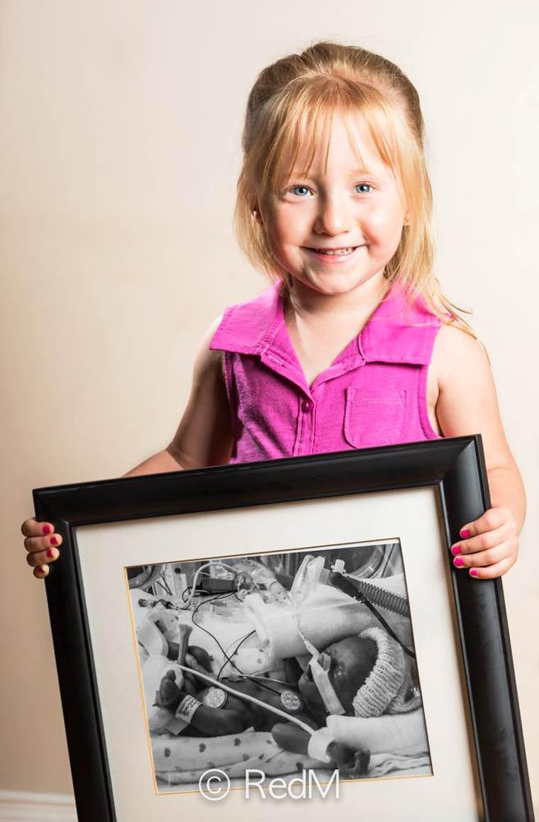 Juliette, nata a 30 settimane