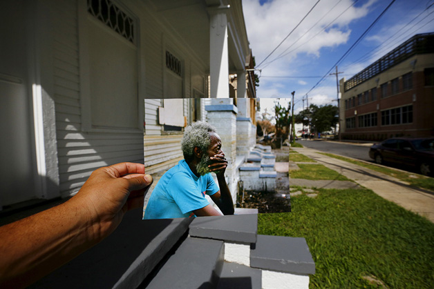 Wider Image: Katrina Scenes Overlaid - 10 Years On