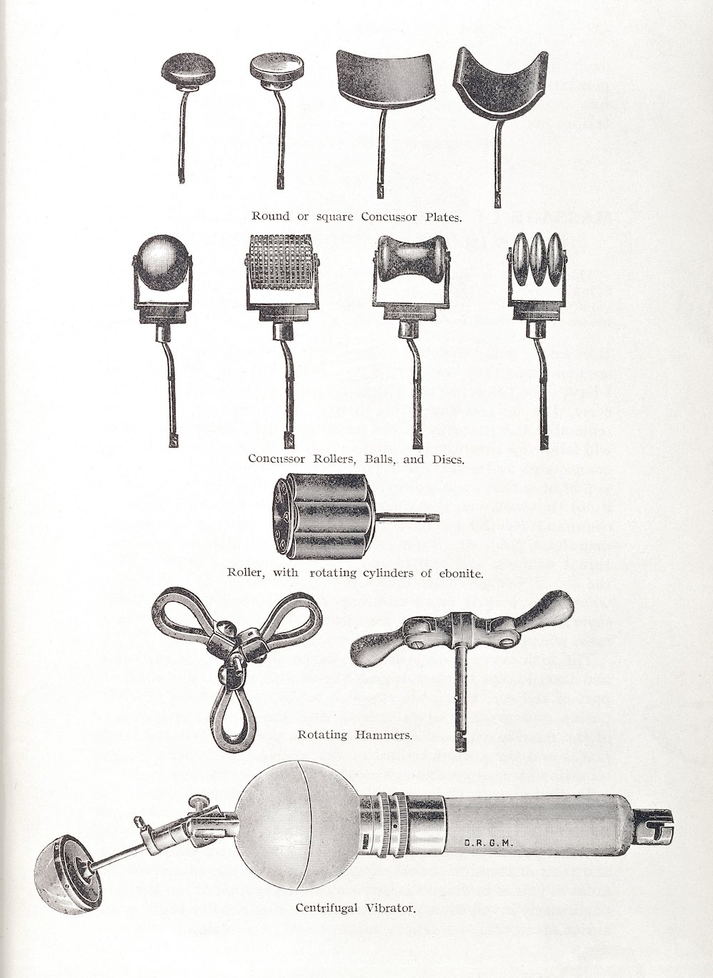 L0034214 Illustration showing various instruments