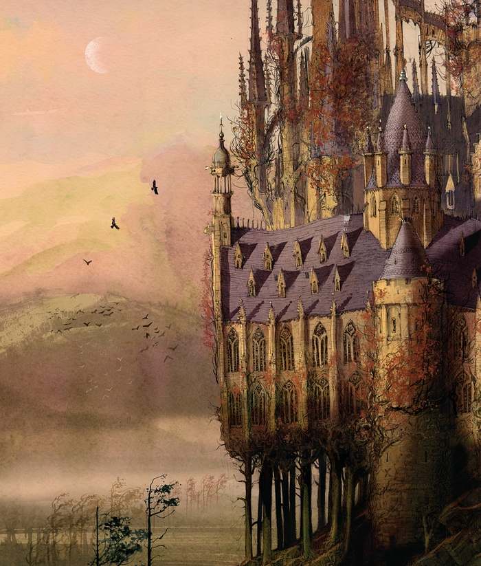 Ed ecco invece Hogwarts in tutta la sua gloria!
