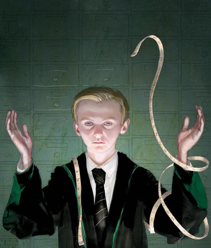 Non poteva mancare Draco Malfoy.