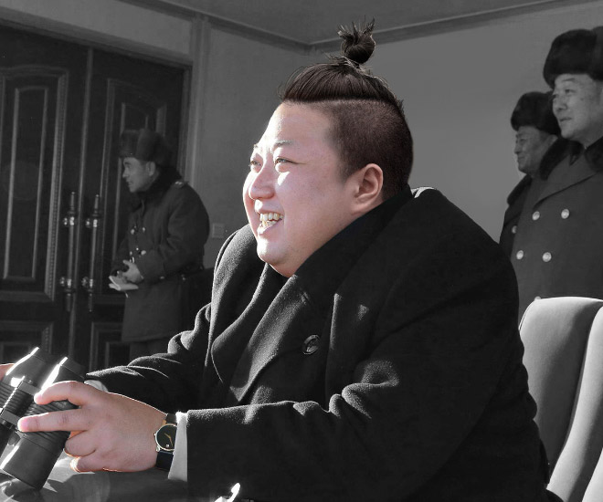 man-bun-north-korea