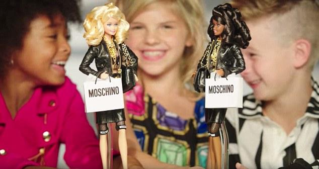 moschino barbie2