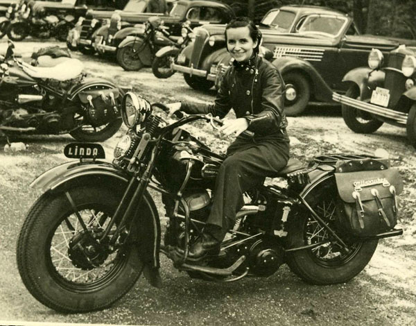 Vintage Young Girls Riding on Motorbikes (16)