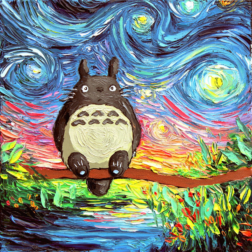 studio-ghibli-inspired-fan-art-paintings-oil-watercolor-1-5832aa0d3b58f__880