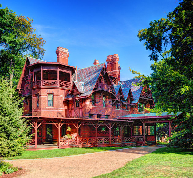 Mark Twain House in Hartford, Connecticut.