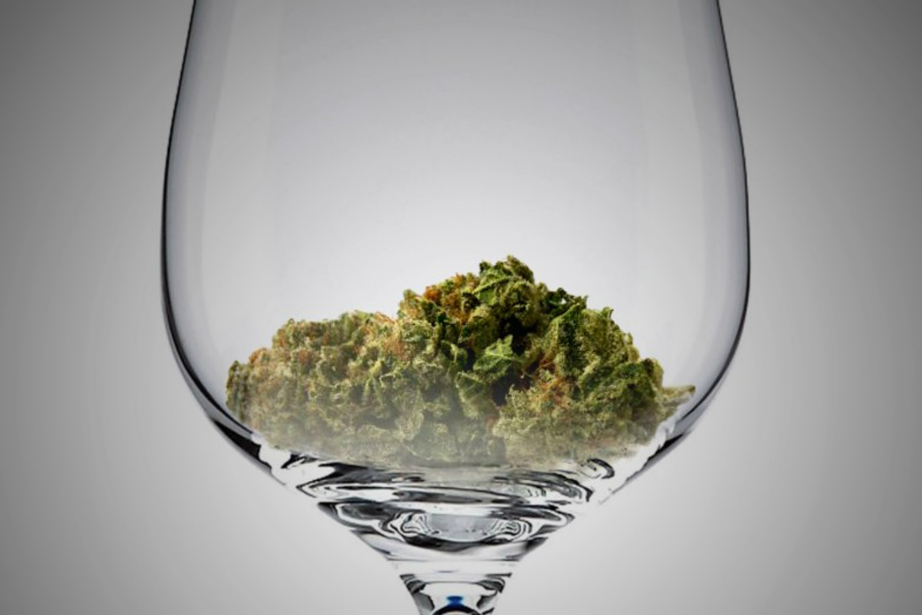 cannabis-sommelier cene catering
