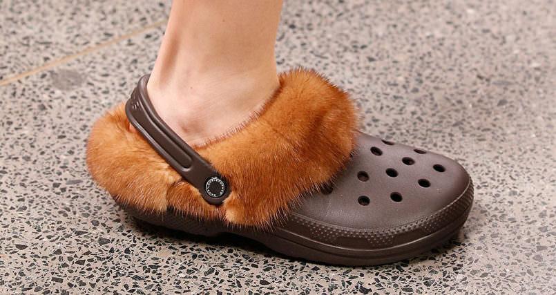 crocs pelli