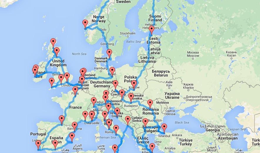 itinerario-perfetto-road-trip-europa