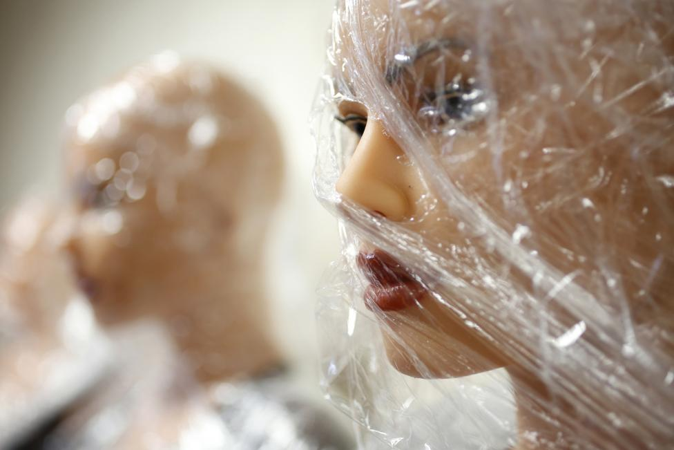 Silicone dream dolls are seen at the workshop of the Dreamdoll company in Duppigheim near Strasbourg