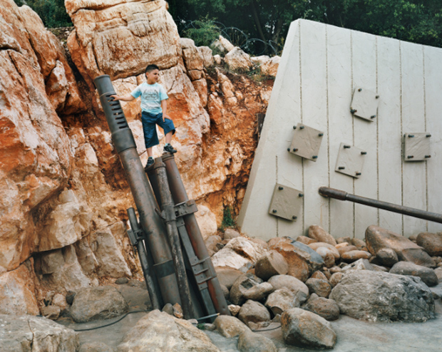 The Hezbollah-operated Mleeta Resistance Tourist Landmark, southern Lebanon