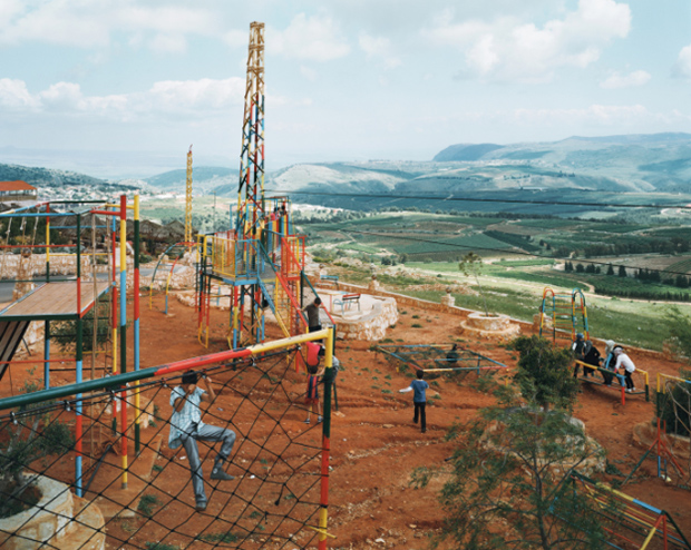The Iranian-built park in Maroun al-Ras, Lebanon.