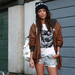 La fashion blogger sempre sul pezzo