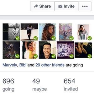 Guardi i partecipanti sull'evento Facebook, poi decidi