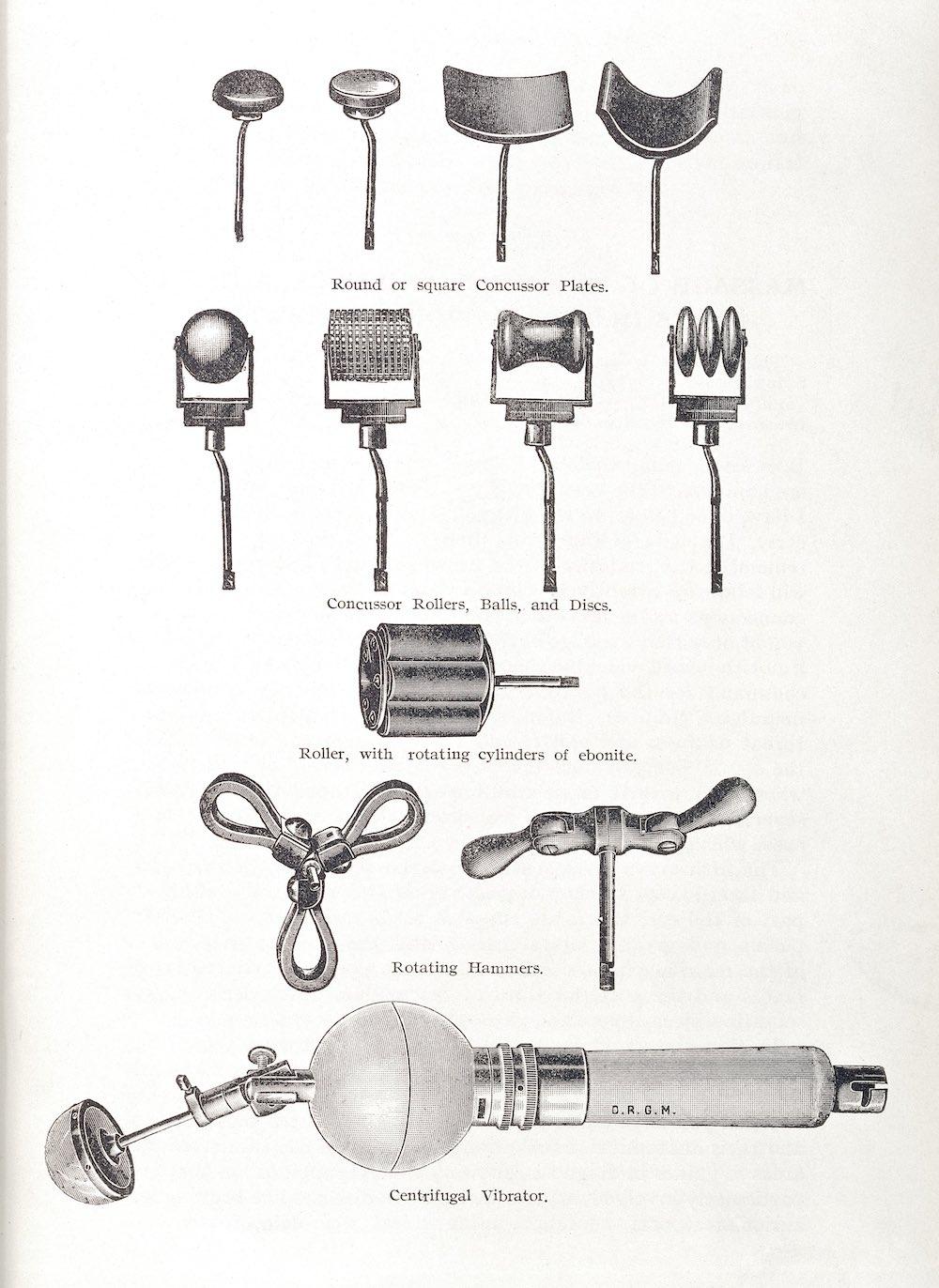 L0034214 Illustration showing various instruments