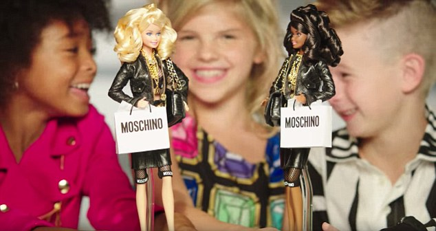 moschino barbie2