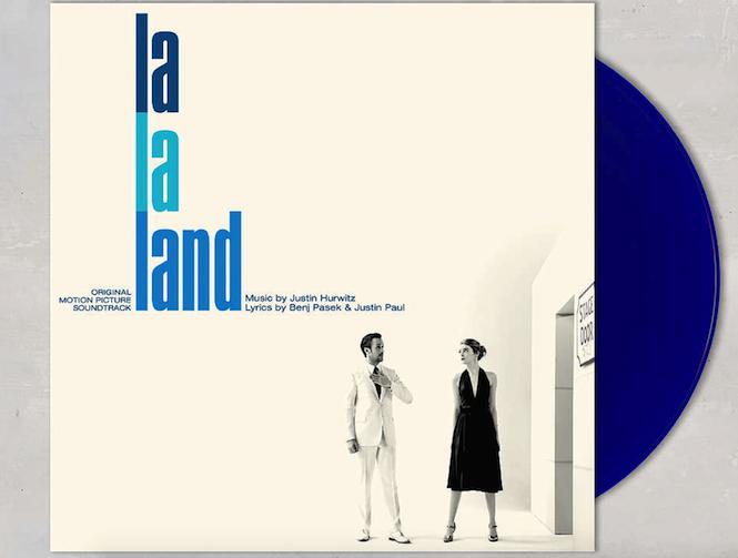 Vinile con la soundtrack di La La Land