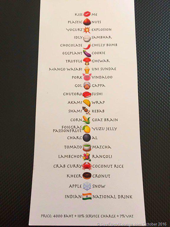 menu emoji completo