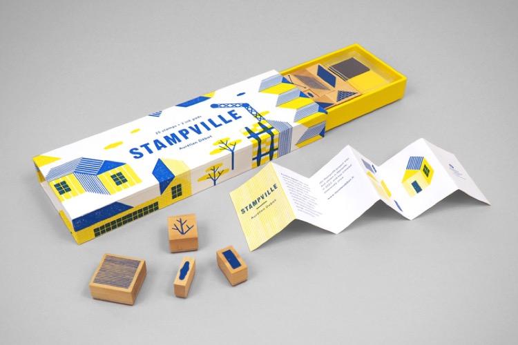 Stampville Un Kit Di Timbri Per Creare La Propria Città Immaginaria