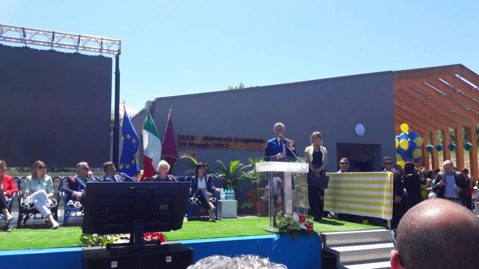 Terremoto: nel Gran Sasso nuova scuola a Crognaleto, dono Ikea