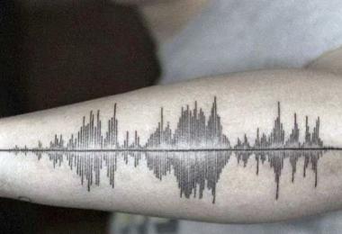 skin motion tatuaggi sonori