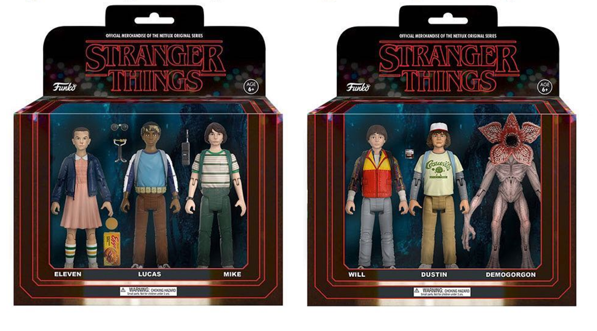 action figures di Stranger Things
