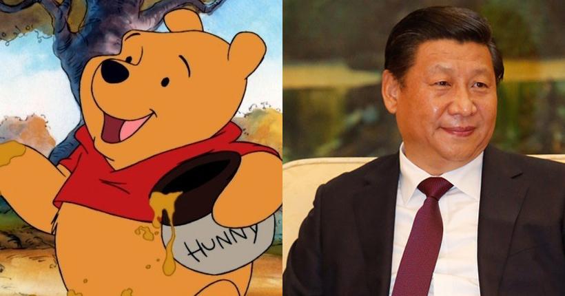 Winnie the pooh Xi Jinping