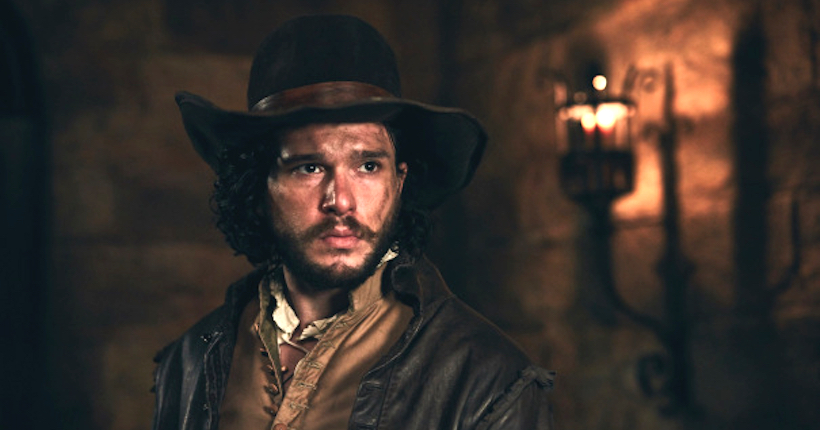 Gunpowder, le prime immagini di Kit Harington post Trono di spade