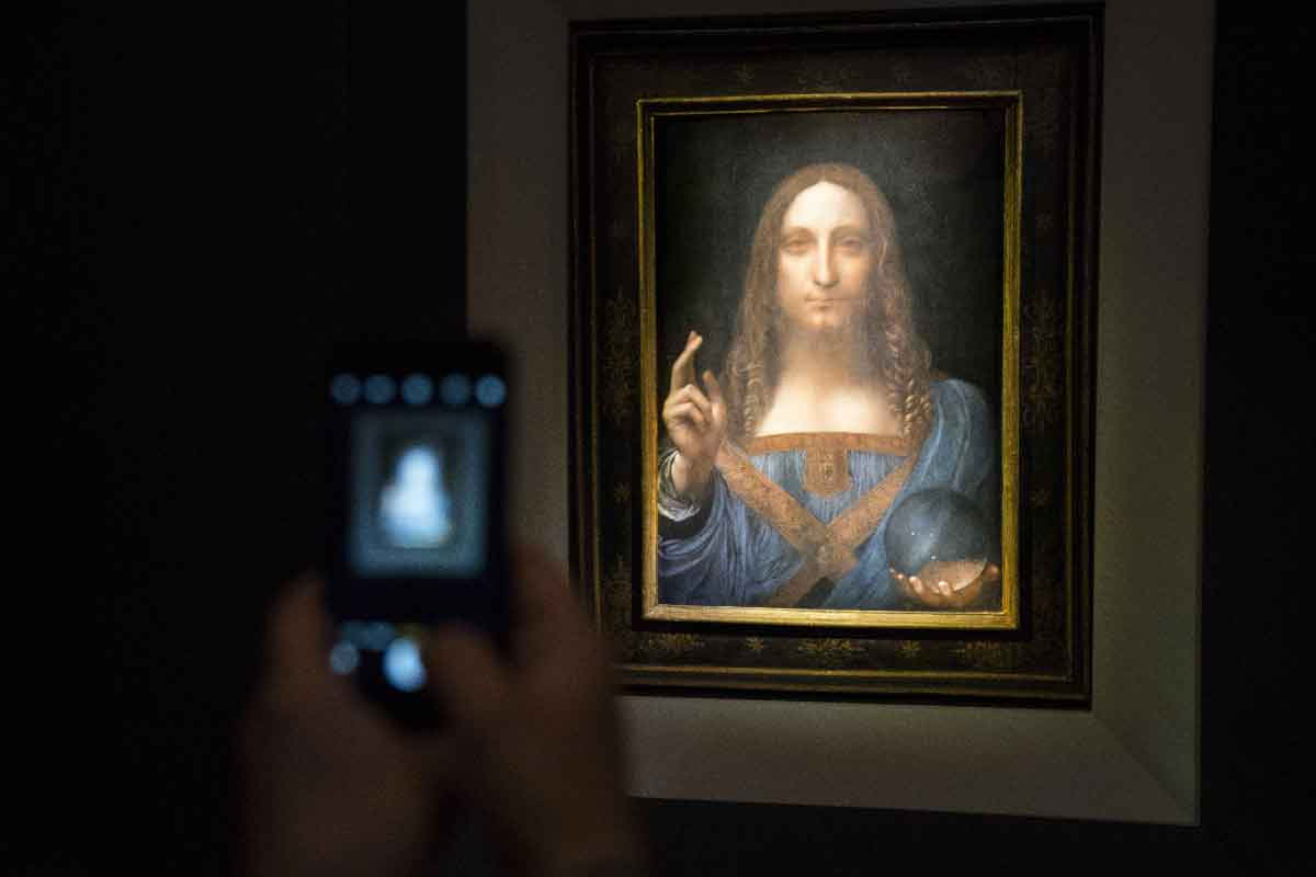 Salvator Mundi di Leonardo, vendita record all'asta di New York