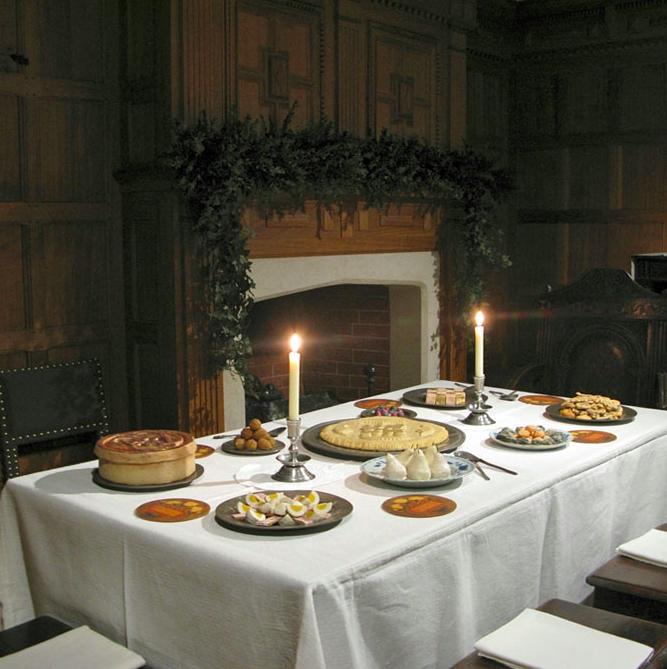 Un museo a londra ricrea ambienti di natale dal 1600 ad for Tessuti arredamento inglesi