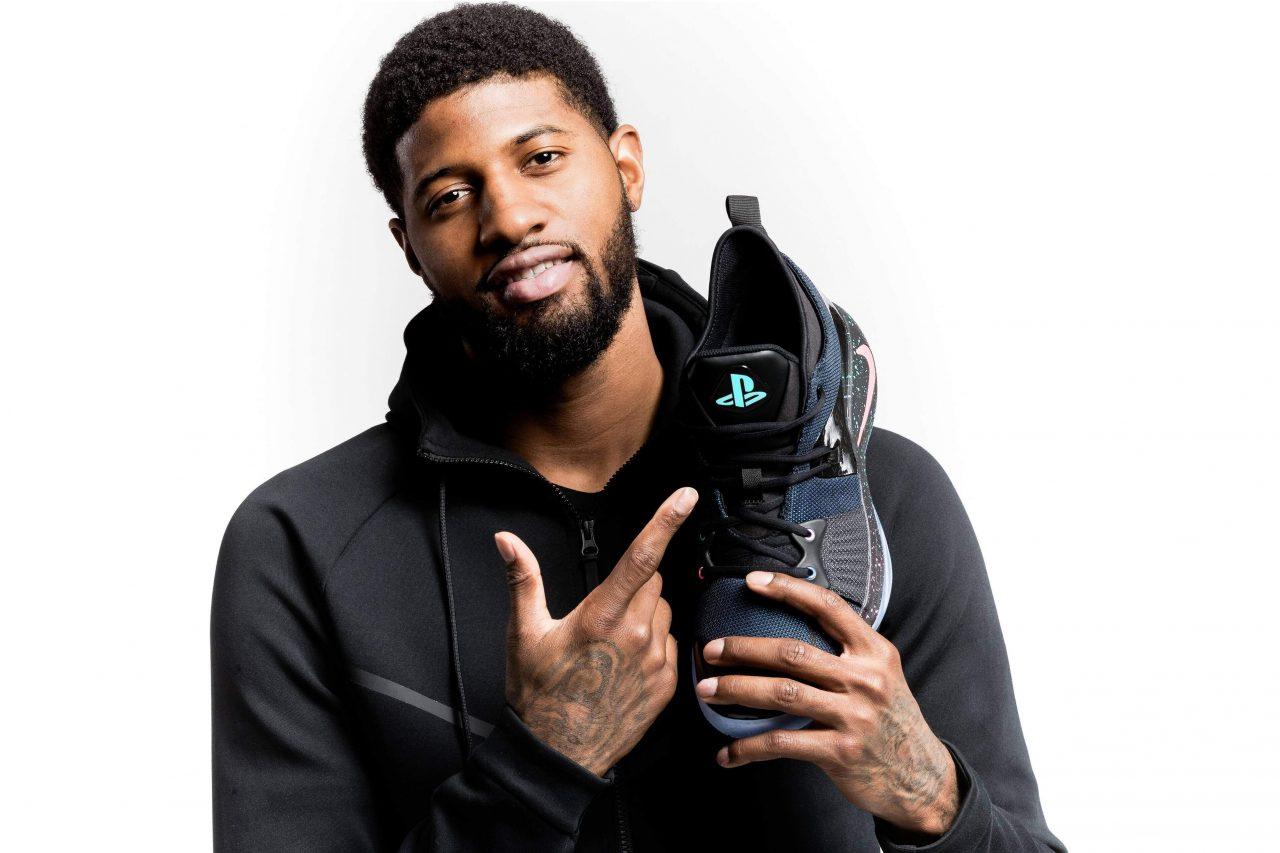 Nike PG-2: scarpe da basket a marchio PlayStation