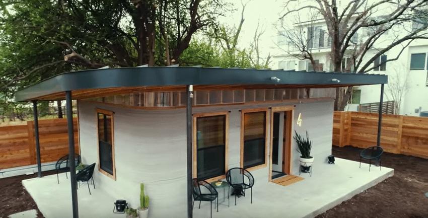 Texas costruiscono un 39 abitazione con la stampante 3d in for Progetta la tua casa in 3d